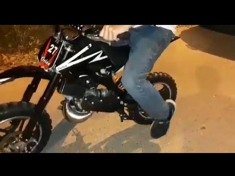 Mini Motos Cross En Colombia A Gasolina Para Niños 2t 49 Cc Youtube