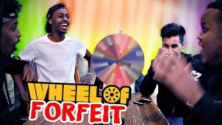 One of Loai's most viewed videos: WE MADE CHUNKZ VOMIT?!! | WHEEL OF FORFEITS CHALLENGE WITH MANDM!