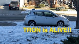 Tron is Alive - Our Leaf lives after 84000KMs!!