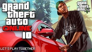 GTA ONLINE TOGETHER #010: Fallschirmsprung vom Mount Chiliad [LET'S PLAY GTA V]