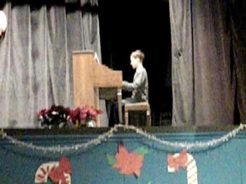 """Luke Parks 12.9.09 Hoover School Talent Show """"100 ..."""
