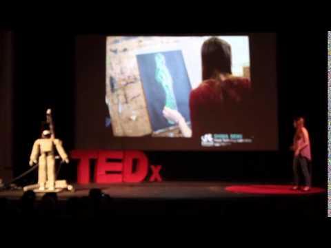 Hubo the robot! | RJ Gross & Chlesea Knittel | TEDxYouth@BridgeStreet