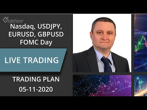 Nasdaq, EURUSD, GBPUSD, USDJPY: Possible Trading Setups with FOMC Day, Price Action | Liteforex