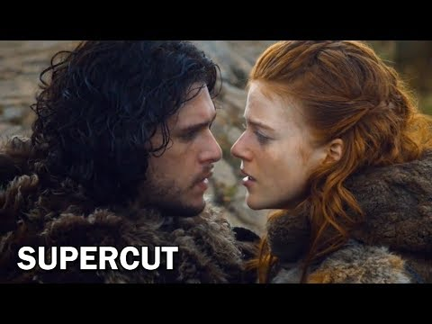 SUPERCUT - The Most Heartwarming Moments in Game of Thrones