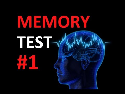 Amazing Memory Test - Self Short term memory Tests by Psychology AIT