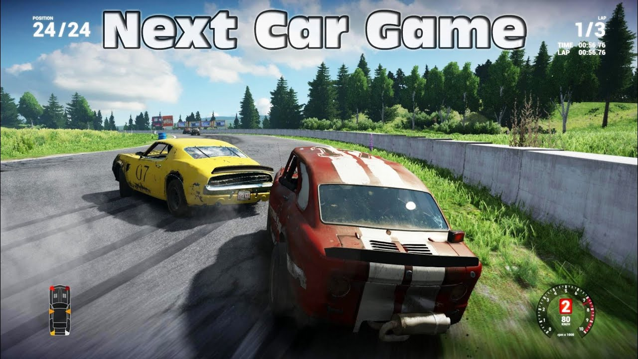 The Next Car Game PC Gameplay - How NOT to Play [Max Settings]