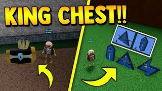 *NEW* SWORD, STAFF, & BOW!! 🏹 (2 Secret Chests FOUND!) | Build a boat for Treasure ROBLOX