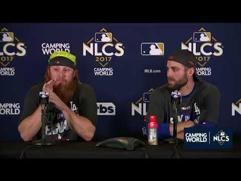 Justin Turner and Chris Taylor Postgame Interview | Dodgers vs Cubs Game 5 NLCS
