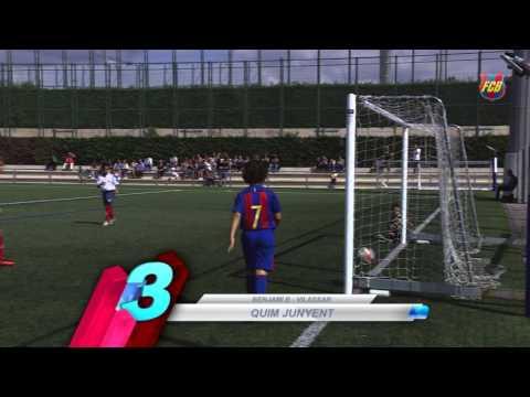 FCB Masia-Academy: Top goals 24-25 september