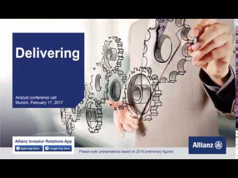 Allianz Group Analysts' conference call on the Group financial results 2016