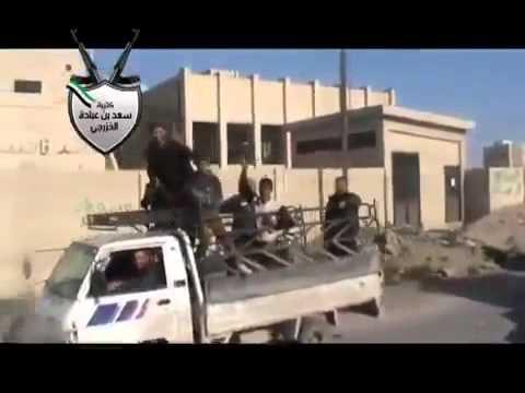 Syrian rebels shot assad MIG down