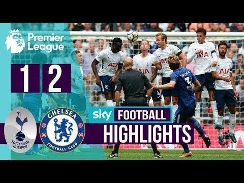 Download Tottenham vs Chelsea 1-2 All Goals & Highlights - EPL 21/08/2017 HD