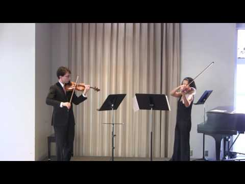 Ludwig Spohr Duo in D for two violins, op. 67 No.2; Rondo
