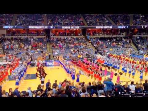 2017 Memphis Academy of Science and Engineering Cheerleaders