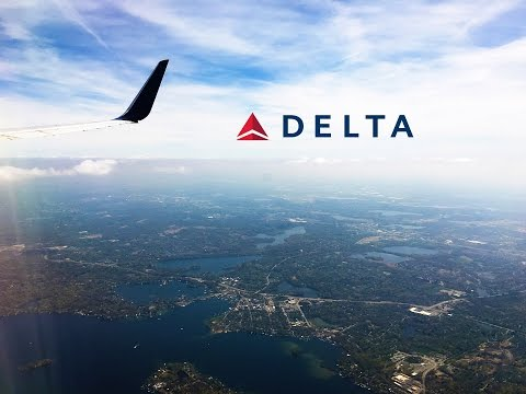 Delta Air Lines Boeing 757-300 Los Angeles to Minneapolis FULL FLIGHT