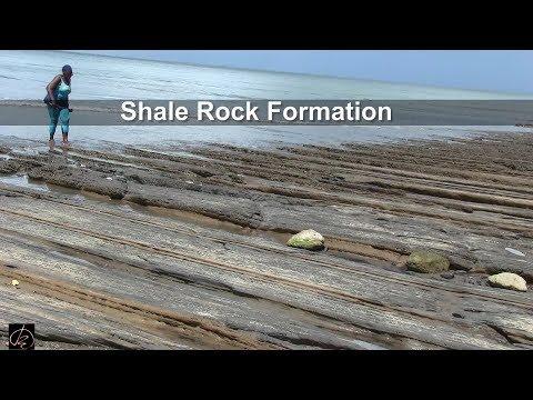 SHALE ROCK FORMATION (Cedros, Trinidad)