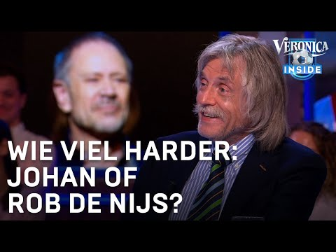 Wie viel harder: Johan of Rob de Nijs? | VERONICA INSIDE