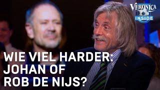 Johan Derksen vindt het genant en schandelijk dat mensen lachen om val Rob de Nijs