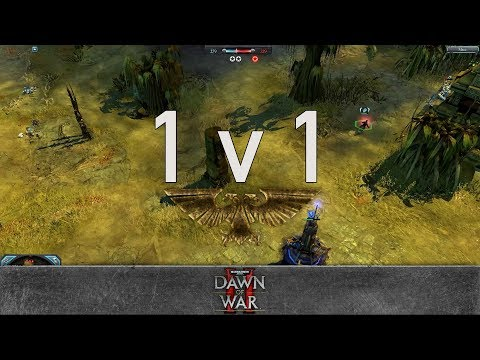 Dawn of War 2: Retribution - 1v1 | Fenix - Lord Commissar [vs] Big Mathis - Warboss