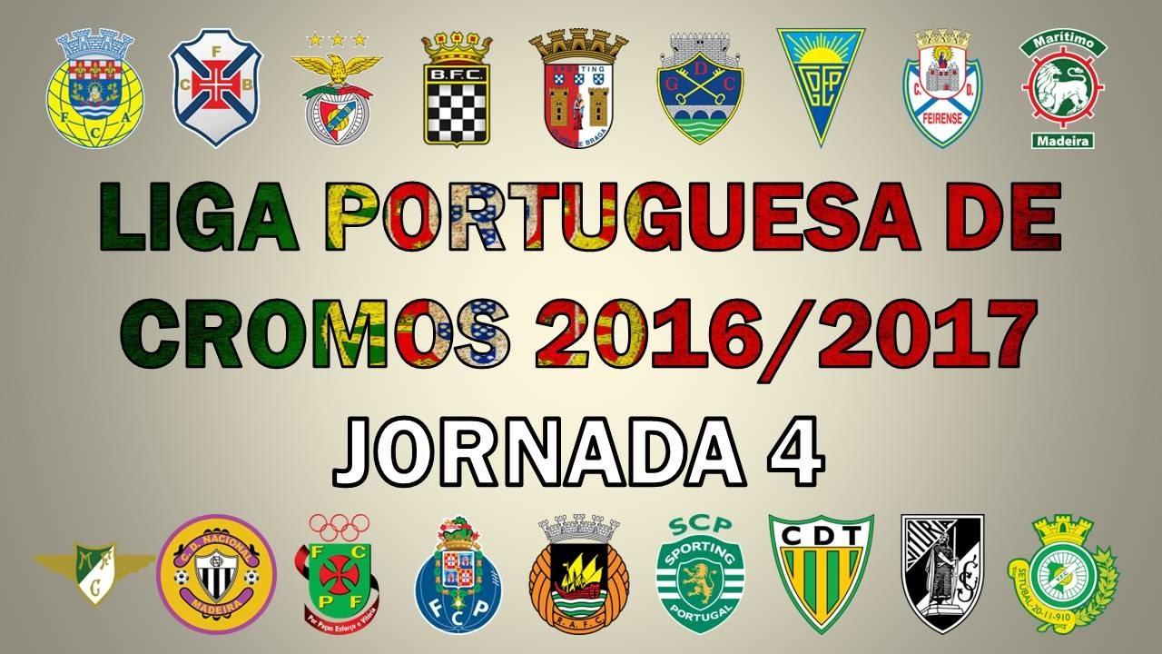 LIGA PORTUGUESA de CROMOS 2016/17 (Jornada 4)