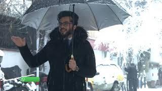 گزارش ایمل در هوای برفی و برف جنگی با همکارانش