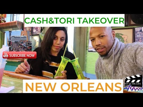NEW ORLEANS VLOG|BOURBON ST Is SO LITT🔥 & She's Mad She Didn't See LIL WAYNE😂🤣