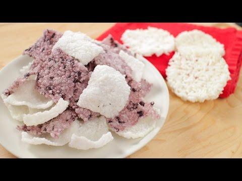 How To Make Rice Crackers & Rice Cakes ข้าวตัง - Hot Thai Kitchen!