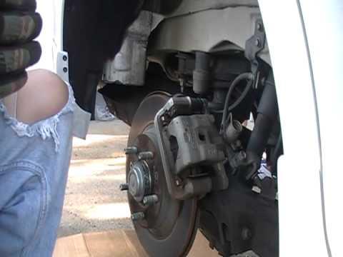 Ford Fusion Rear Brakes 1 Youtube