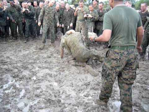 Aussie vs. Marines