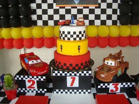 Ideias Decoração e Lembrancinhas Festa Aniversário Carros Disney