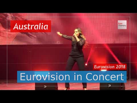 Australia Eurovision 2018 Live: Jessica Mauboy - We Got Love - Eurovision in Concert