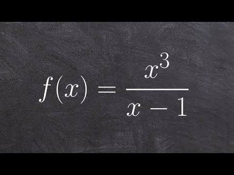 How do you graph a rational function with asymptotes