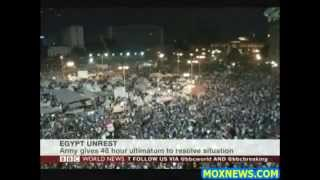 BREAKING BBC NEWS! Egyptian President REJECTS Army