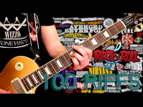 100 Riffs – The Greatest Rock N' Roll Guitar Riffs
