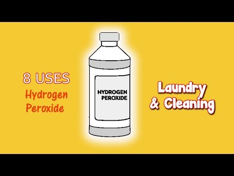 8 Uses For Hydrogen Peroxide For Laundry & Cleaning