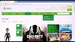 Changer la région et la langue d'un profil Xbox
