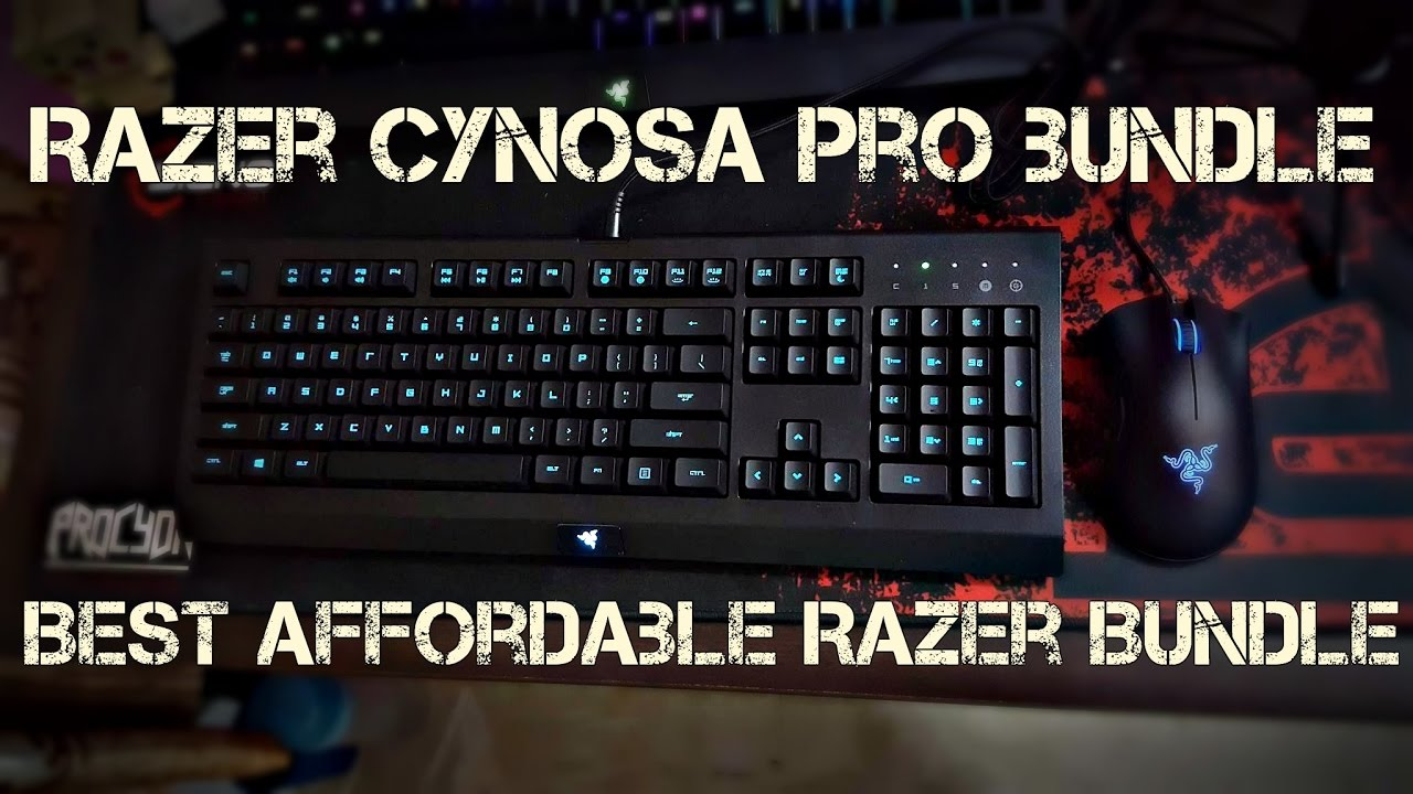 26a7529baff Razer CYNOSA Pro Bundle Unboxing & Review !!! Best for Price !! [KH ...