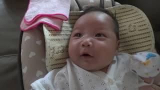 六个星期寶寶學說話嚇到大家 thumbnail