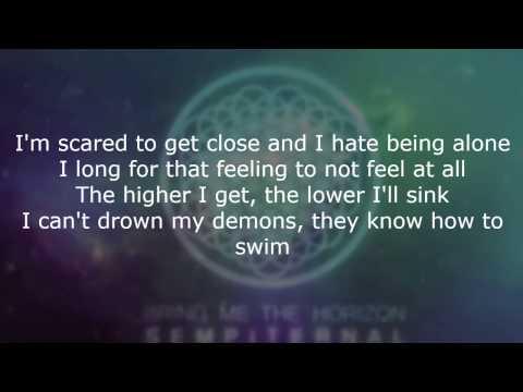 Bring Me The Horizon - Can You Feel My Heart (lyrics) [HD]