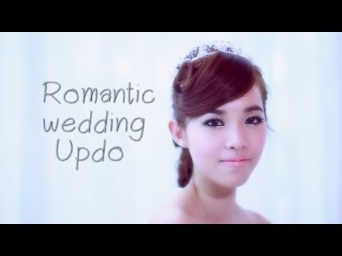 Updo by Buablink: Romantic Wedding Updo (ทำผมเจ้าสาวด้วยตัวเอง)