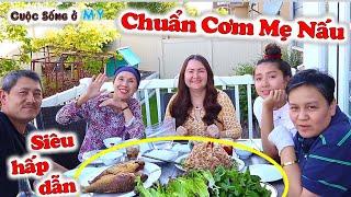 ❀//Vlog 223// Tuyệt Đỉnh Cá Mè Chiên Xù Cuốn Bánh Tráng Rau Sống Chuẩn Cơm Mẹ Nấu - Món Ăn Ngon 2019