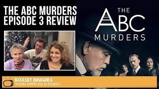 The ABC Murders (John Malkovich BBC Series) Episode 3 - Nadia Sawalha & Family Review
