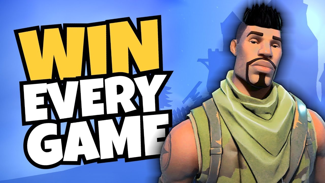 Fortnite How To Win Every Game  Youtube