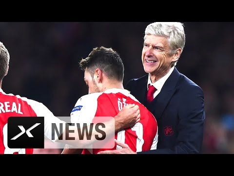 "Arsene Wenger: ""Mesut Özil ist ein Weltklasse-Spieler"" | FC Arsenal - FC Everton"
