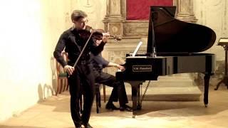 """A. Piazzolla, """"Oblivion"""", arrangiamento per duo violino e pianoforte di M. Bisi"""