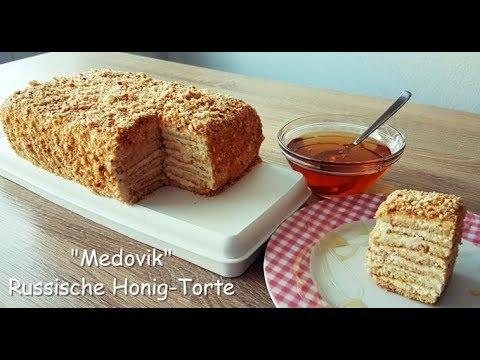 Medovik/ Marlenka /Faulenzer Variante /Honey-Cake