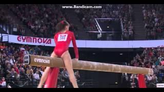 Denis Abliazin, Kharenkova Maria, Nagornyy Nikita 2015 European Championships Montpellier