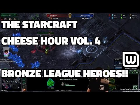 The Starcraft Cheese Hour Vol. 4 - Bronze League Heroes