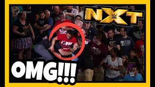 Reaction   HUGE FIGHT IN THE CROWD AT THIS WEEKS WWE NXT!!! Gargano vs Ciampa!!!