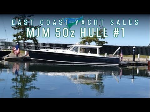 MJM 50z hull #1 - East Coast Yacht Sales